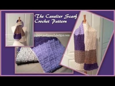 The Cavalier Scarf Crochet Pattern