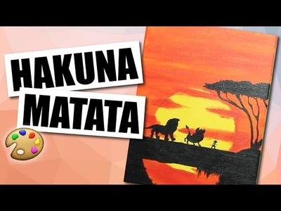 The Lion King (hakuna matata)- Speed Art