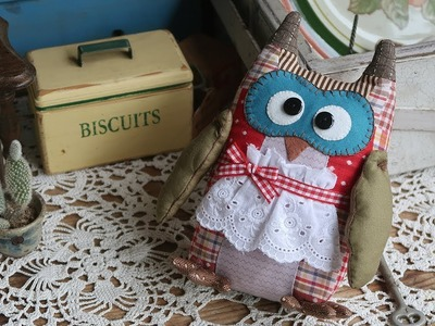 퀼트 부엉이인형 만들기 #1.2 │Owl Plush Toy Part.1 │ Hand Quilt │  How To DIY Craft Tutorial