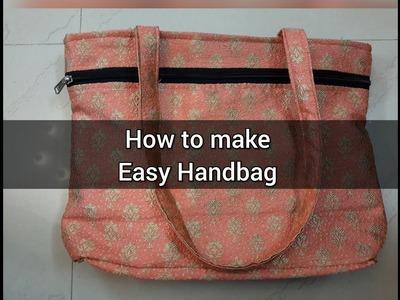 Tutorial for making easy handbag