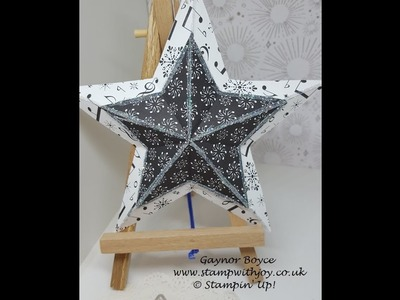 Very Easy 3D Star in just 4 Folds