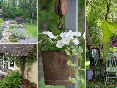 100 Shabby-Chic Style Garden Ideas | Garden Ideas
