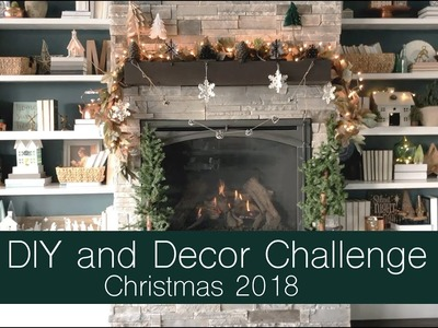 2018 Christmas DIY and Decor Challenge