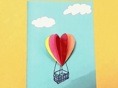 3D Balloon card - Tutorial