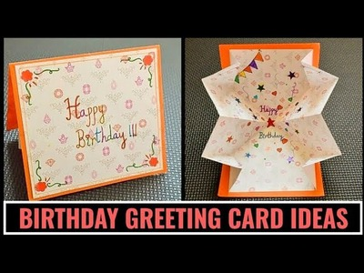 Beautiful Handmade Birthday Pop Up Card | DIY Birthday Card | DIY Greeting Cards #cardmakingideas