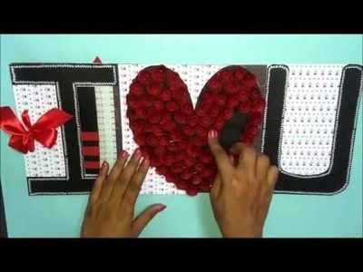 Beautiful Love Greeting card idea for Boyfriend | DIY Love Greeting card | complete tutorial