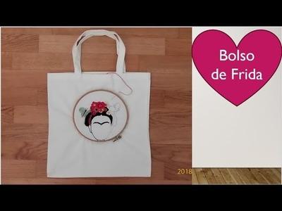 Bordar un bolso de Frida  (parte 2)