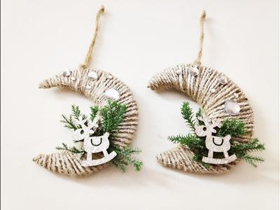 Christmas DIY - Unique Christmas ornaments  (The MOON 2018)