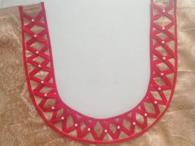 Creative and very latest neck design