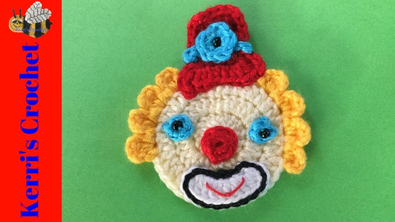 Crochet Clown with Top Hat Tutorial - Beginner Crochet Tutorial