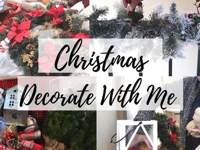 DECORATE WITH ME FOR CHRISTMAS. CHRISTMAS DECOR TIPS. CHRISTMAS 2018