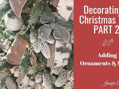 Decorating a Christmas Tree - Part 2