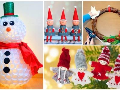 DIY Christmas Decor! Easy Fast DIY Christmas & Winter Ideas for Teenagers