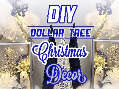 DIY Dollar tree Christmas Decor 2018|Candelabro  Navideño|Colab|Nady