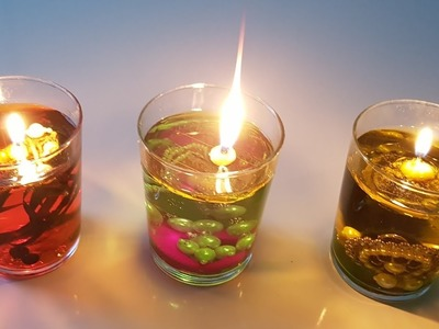 DIY | Floating candles | Christmas decorations | Diwali Decorations | Diwali Decoration idea's.