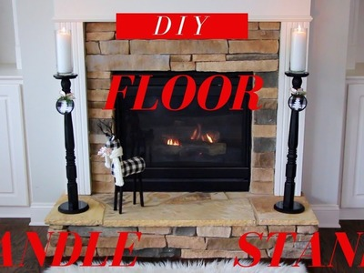 DIY Floor Candle Stands | Make it in 10 mins & Less than $15.