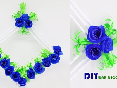 DIY Origami Wall Hanging Flower | Awesome Room Decoration Ideas | Crafts Do It