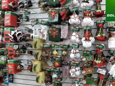 DOLLAR TREE CHRISTMAS ORNAMENTS AND DECORATIONS - CHRISTMAS SHOPPING HOME DECOR CHRISTMAS 2018