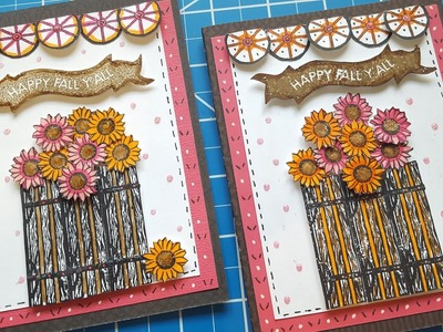 Fall Card and Color Challenge | Maymay Made It Design Team Project