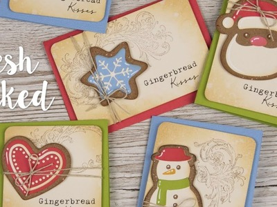 Fresh Baked Christmas Card Designs with Pete Hughes - Sizzix Lifestyle