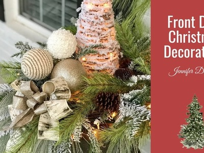 Front Door Christmas Decorations Part 2|Christmas 2018