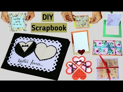 Full Scrapbook Tutorial   DIY Scrapbook   How to make a Scrapbook  