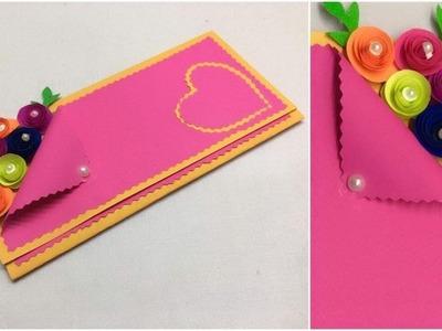Handmade Greeting Card | DIY Greeting Cards for Birthday. - Simple Craft Idea