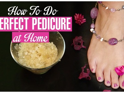How To Do Pedicure at Home Perfectly With Baking Soda and Sugar