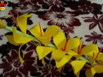 How to Make A Gift Flower | Easy Flowers Making | Handmade Gift Ideas | DIY Paper Crafts