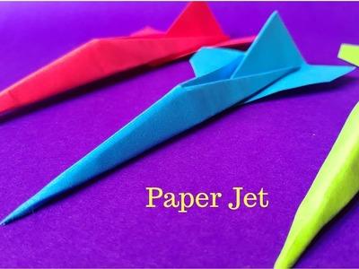 How To Make a Paper Jet | Origami Jet | InnoVatioNizer