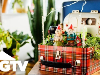 How to Make a Tabletop Gnome Home - HGTV Happy