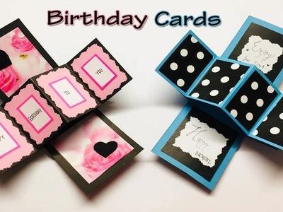 How to Make Beautiful Handmade Birthday Card | New Happy Birthday Card Ideas