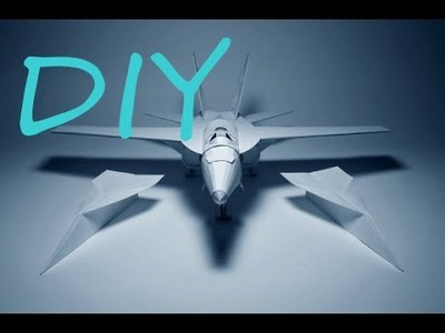 How To Make Fighter Aircraft Using Paper | BEST ORIGAMI PAPER JET????