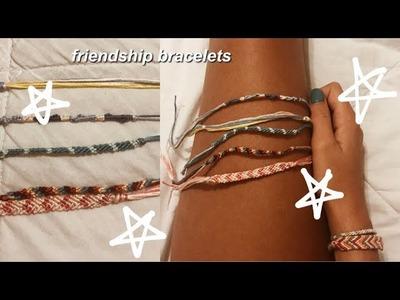How to make friendship bracelets !
