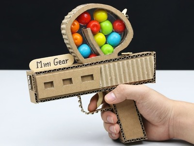 How to Make Gumball Gun from Cardboard