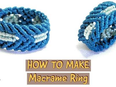 How to Make Macrame Ring | DIY EASY Ring