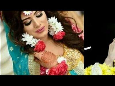 How to make real flower jewellery | DIY | jasmine tissue tutorial for jewellery for mehndi | haldi