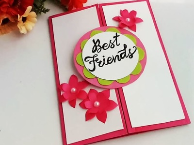 How to make Special Card For Best Friend.DIY Gift Idea
