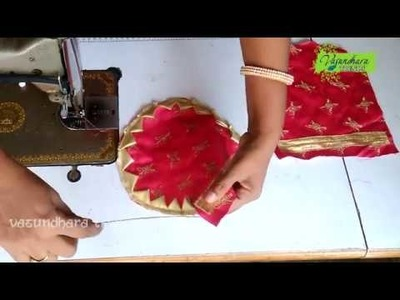 How To Stitch Purse.Pouch Yourself  with Reused Cloth || DIY Designer Handmade Fabric Pouch.Purse