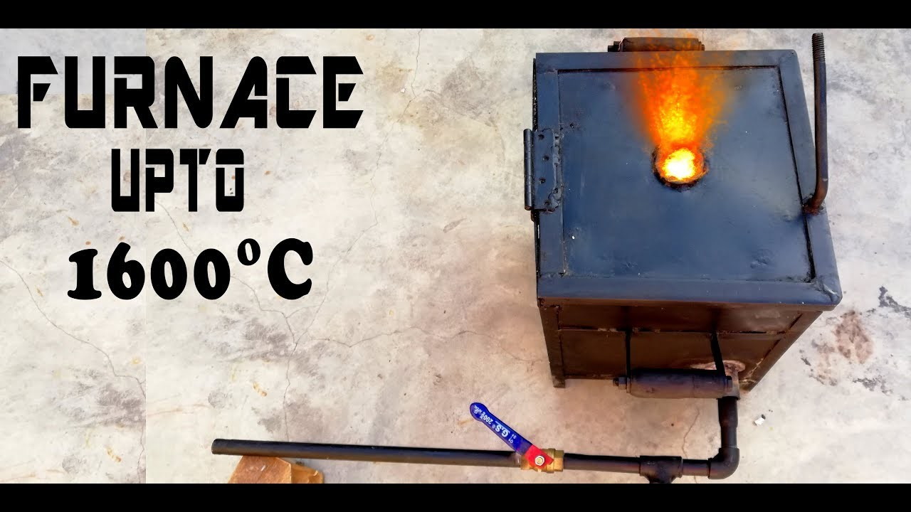 Make a simple Metal Melting Foundry