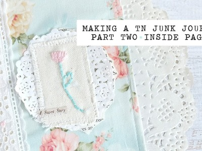 Making a TN junk journal | part 2: inside pages