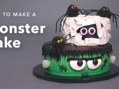 Monster Cake Tutorial | DIY Halloween Ideas