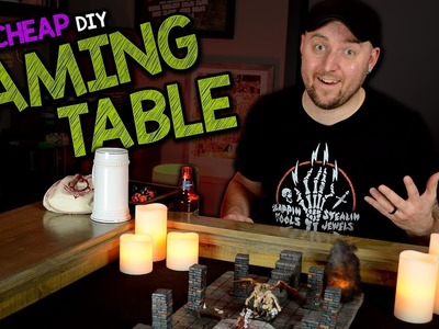 ????????MY CHEAP DIY GAMING TABLE - Review & How I Made It
