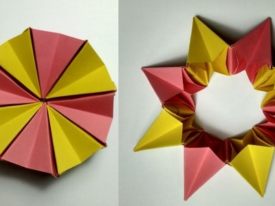 ORIGAMI MAGIC CIRCLE falten mit Papier | Basteln mit Kindern ... | 300x400