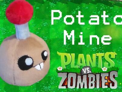 Plants vs Zombies: Potato Mine Plush Tutorial (Free Pattern)