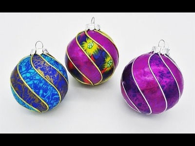 Spiral Baubles in Polymer Clay, a tutorial