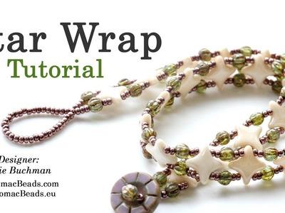 Star Wrap Bracelet - Beadweaving Tutorial