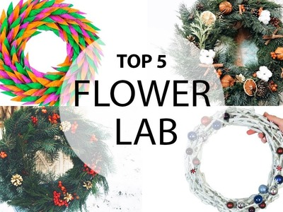 TOP 5  Christmas Wreath | DIY CHRISTMAS DECOR
