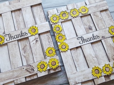 Wooden Fence Greeting Cards | Design Team Project for Maymay Made It