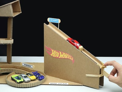 Wow! Amazing DIY Hot Wheels Launcher from Cardboard
